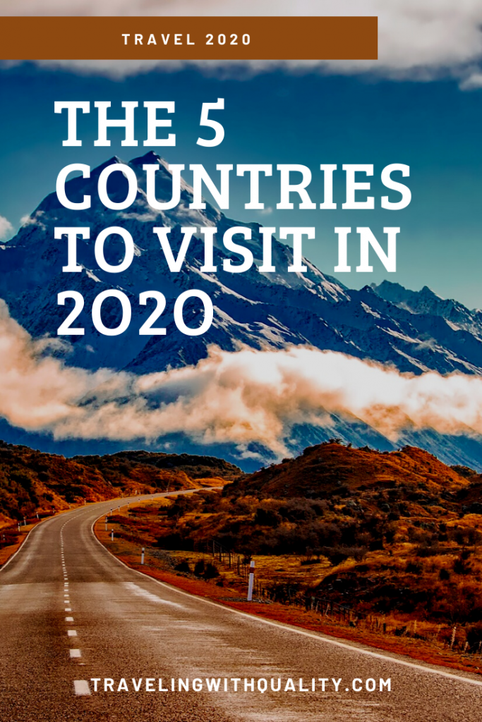 The 5 Countries to Visit in 2020